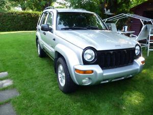 2002 Jeep Liberty edition limited VUS