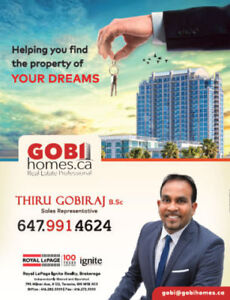 LOOKING TO RENT A PROPERTY IN GTA? | www.GobiHomes.ca