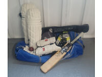 Full Set of Cricket Equipment (Adult Size)