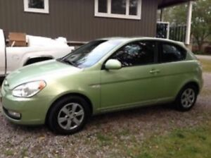 2007 Hyundai Accent Coupe (2 door) REDUCED AND PRICED TO SELL