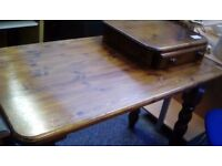 Desk with table top drawer #27964 £59