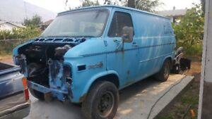 1979 Chevrolet G20 Van boogy van Minivan, Van