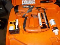 Paslode Impulse IM65 F16 Finishing Nailer. Just serviced. One battery and one charger included.