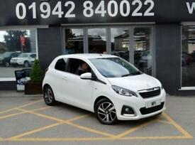 2014 14 PEUGEOT 108 1.2 ALLURE 3D 82 BHP HATCH, WHTE, 17-000M SH, £0YR TAX