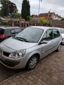 RENAULT SCENIC 2007 57 PLATE GREAT CONDITION INSIDE AND OUT £995