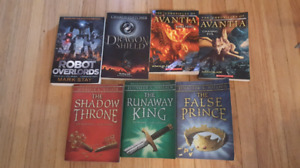 7 books -ADVENTURE/FANTASY
