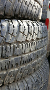 P265/70R17 Tires. Used good condition.
