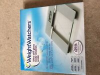 Weight watchers scales- new.