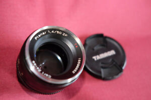 ZEISS Planar T 50mm f/1.4 ZF MF Lens For Nikon
