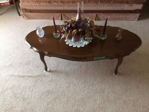 Coffee and end tables $30