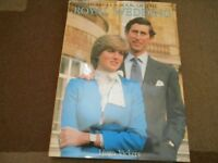 Book on Wedding Of Charles & Diana.