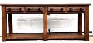 NEW EARLY 20th CENTURY CONSOLE/ENTRY/ISLAND/KITCHEN TABLE