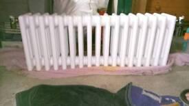 Three stylish radiators