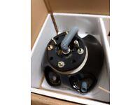3 x backwash sinks in black brand new