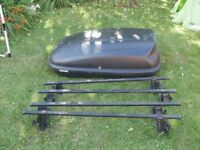 Halfords roof box cargo carrier