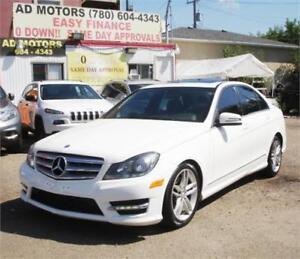"""ACTIVE STATUS"" 2013 MERCEDES BENZ C300 AWD LUXURY PACK NAVi"