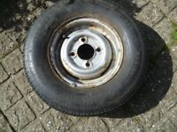 Mini Wheel and Tyre