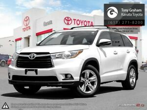 2014 Toyota Highlander Limited Leather+Sunroof+Navigation
