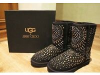 UGG and Jimmy Choo Boots