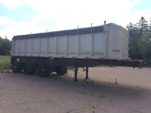 1990 King 34.5ft Dump Trailer