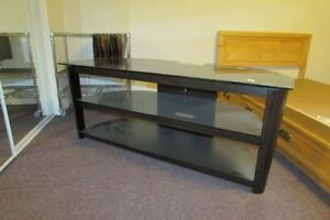 New Age Glass TV Stand