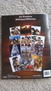 New Attack on Titan poster book
