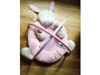 MOTHERCARE PLAYMAT gym and arch for baby / infant with soft toys