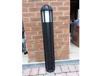 Outdoor post light Anthracite
