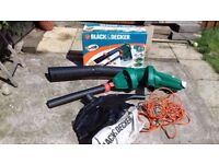 Black and Decker Leaf Blower and Vacumn