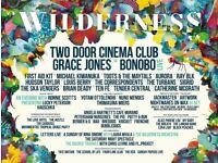 2 x Wilderness festival tickets