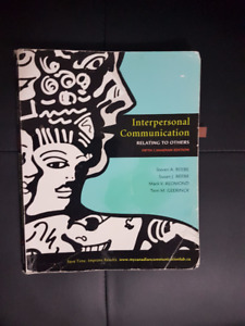 interpersonal communication relating to others 8th edition