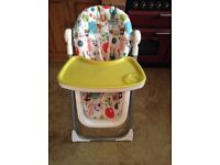 Chic Polly Highchair Very Good condition