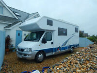 Hobby 670 AK Fiat 2.8 6 Berth Motorhome Camper with Garage and only 35k from New