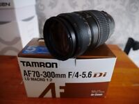 TAMRON AF70MM-300MM F/4-5.6 DI FOR CANON