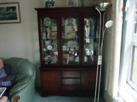 Very Good Condition John Coyle Display Cabinet - 5 Doors & 3 Drawers