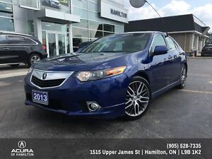 2013 Acura TSX A-Spec A-Spec -- MANUAL 6 SPEED!!