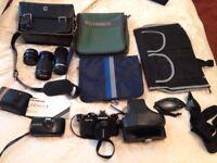 Photography Job Lot, Camera's etc
