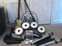 The Beatles rockband starter kit for the wii