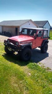 1997 Jeep TJ Coupe (2 door)