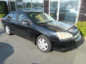 2005 Chevrolet Malibu AUTO WTH MOONROOF AND LOW KMS