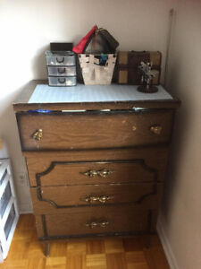 wooden cloth drawer