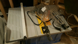 Lot of saws just need them gone first $200 takes them