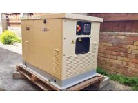 SDMO RES 13EC Natural Gas/LPG Residential Generator (Oil Changed, New Battery Fitted)