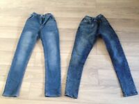 Two Pairs of NEXT Jeans age 14 years