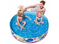 Splash and play paddling pool