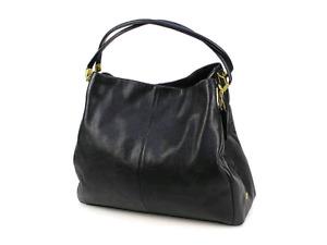 COACH brand Black Leather Purse