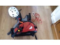 palm extreme ev Large buouyancy aid good condition . Includes large and small helmet