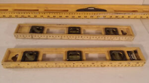 3 industrials measuring level inclinaison surface STANLEY