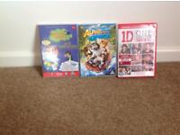 Children's DVDs that can be sold each for a pound