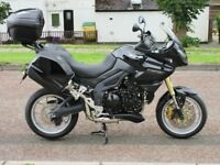 TRIUMPH TIGER 1050, 2009, IN OUTSTANDING CONDITION